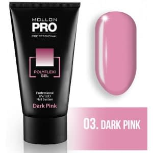 MOLLON PRO POLYFLEXI GEL - 03 DARK PINK 60ML